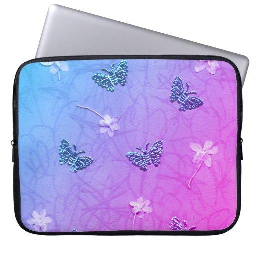 Blossoms & Butterflies Laptop Sleeve