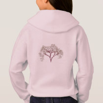 Blossoms Cherry Tree Bunny Destiny Park Love Peace Hoodie