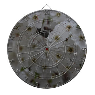 Blossoms Dartboard With Darts
