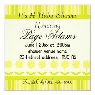 Blossoms Elegant Adorable  Baby Shower Invitation