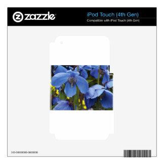 blossoms flora flowers petals garden vines iPod touch 4G skin