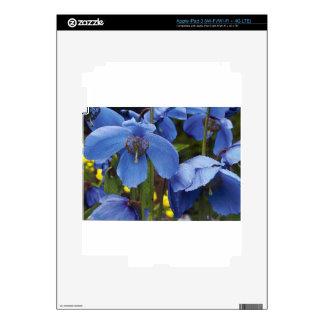blossoms flora flowers petals garden vines skin for iPad 3