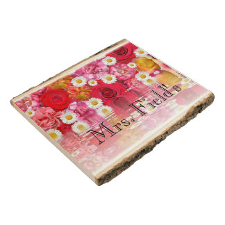 Blossoms Flowers Office Custom Destiny Destiny'S Wood Panel
