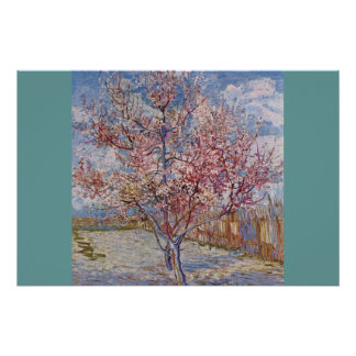 Blossoms Gogh Tree Flower Vines Love Peace Destiny Poster