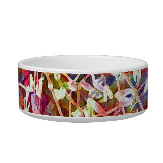 Blossoms in the Undergrowth Pet Bowl