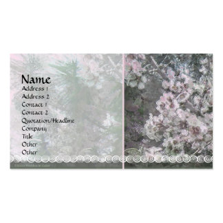 Blossoms & Pines 1 Profile Card Business Card