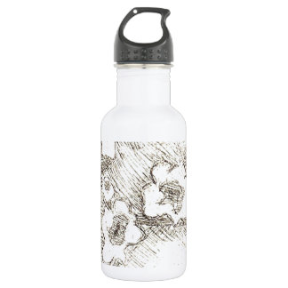 Blossoms Stainless Steel Water Bottle