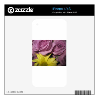 Blossoms Summer Destiny Independence Floral Garden iPhone 4S Decal