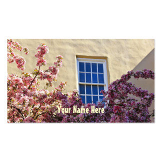 Blossoms & Window Business Card