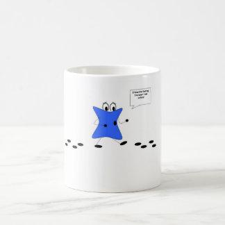 Blotch Walking in Circles Coffee Mug