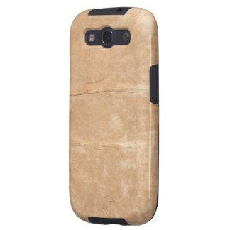 Blotched Beige Paper Photo Texture Galaxy S3 Case