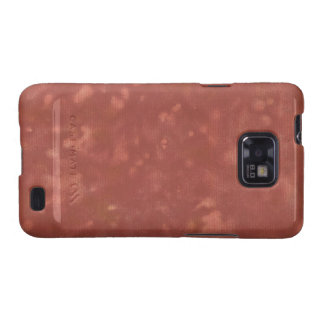 Blotched Crimson Paper Texture Android Case Samsung Galaxy SII Case