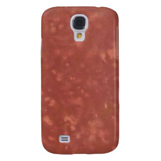 Blotched Crimson Paper Texture iPhone 3G Case Galaxy S4 Cover