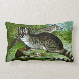 Blotched Genets Pillows