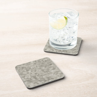 Blotchy Anodized Metal Textured Beverage Coaster