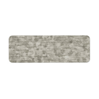 Blotchy Anodized Metal Textured Label