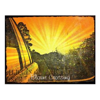Blount Crossing Postcard