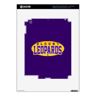 Blount High School; Leopards Decal For iPad 3