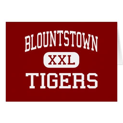 Blountstown - Tigers - High - Blountstown Florida Greeting Cards