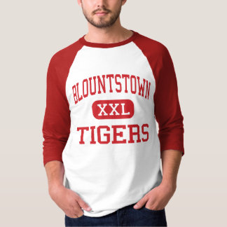 Blountstown - tigres - alto - Blountstown la Playera