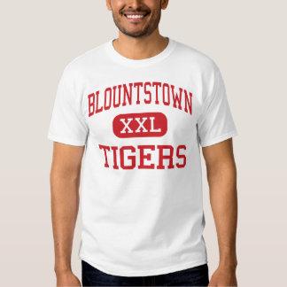 Blountstown - tigres - alto - Blountstown la Polera