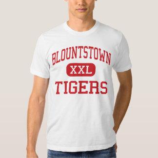 Blountstown - tigres - centro - Blountstown Playeras