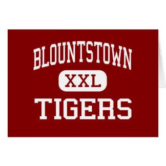 Blountstown - tigres - centro - Blountstown Felicitación