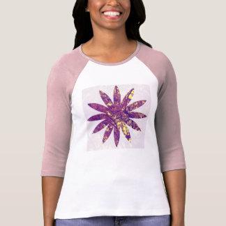 Blouse lilac Flower T-Shirt