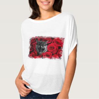 Blouse Scream of the Cat T-Shirt