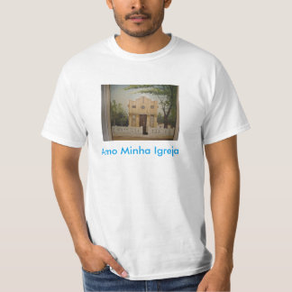 Blouse with photo of Church T-Shirt