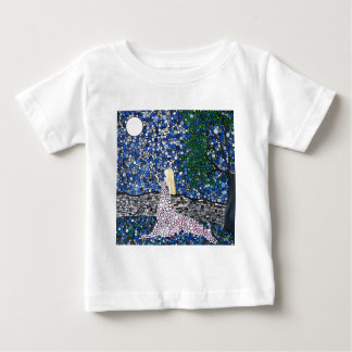 Blow a kiss to the moon t shirt