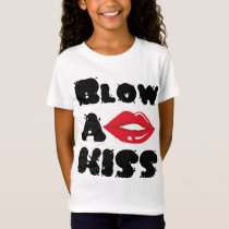 Blow a kiss - Woman's T-shirt
