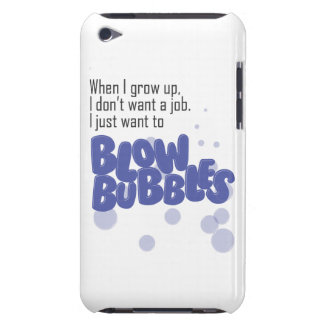 Blow Bubbles Barely There iPod Case