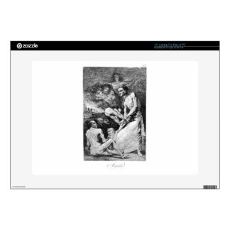 Blow by Francisco Goya Laptop Decals