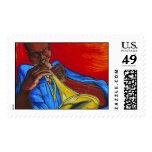 Blow Dat Trumpet Stamp