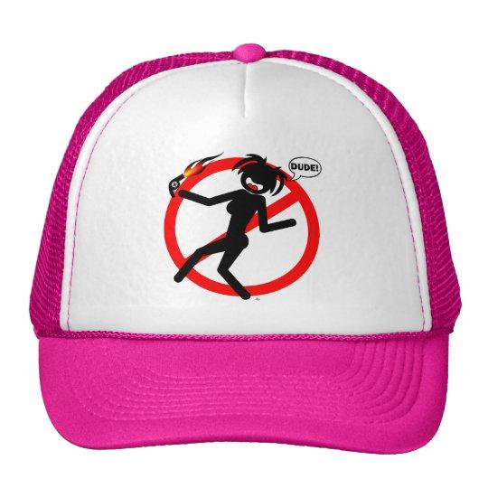 Blow-dryer hazard Shirts and Apparel Trucker Hat