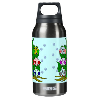 Blow-fish Family in the Seawee Insulated Water Bottle