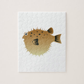 Blow Fish Puzzle