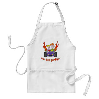 Blow it out your Pipes Adult Apron