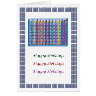 Blow Light Spectrum - Happy Holidays Happyholidays Greeting Card
