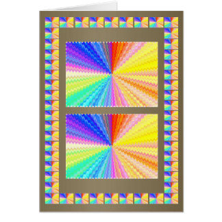Blow Light Spectrum - Love and Surrender Greeting Card