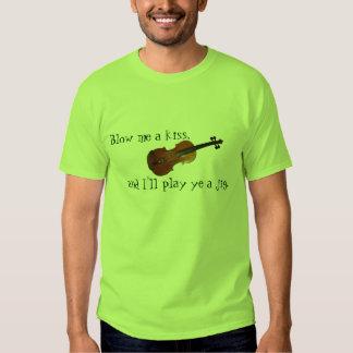 Blow me a kiss Irish St Patty's t-shirt