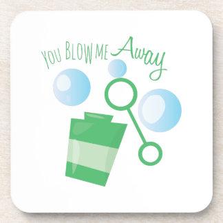 Blow Me Away Beverage Coaster