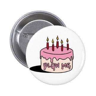 blow me ( Birthday Boy) Pinback Button