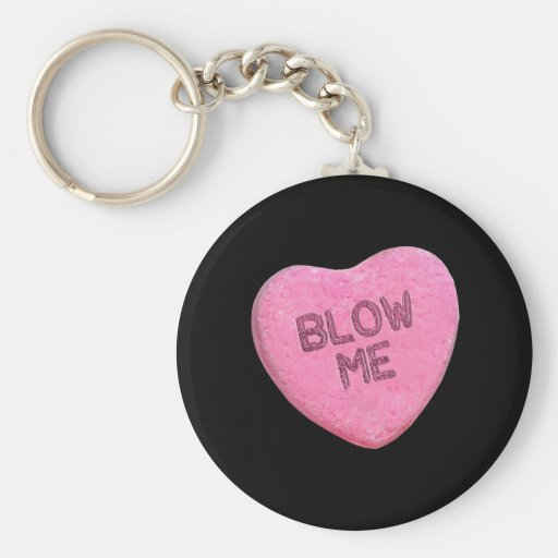 BLOW ME CANDY -.png Key Chains