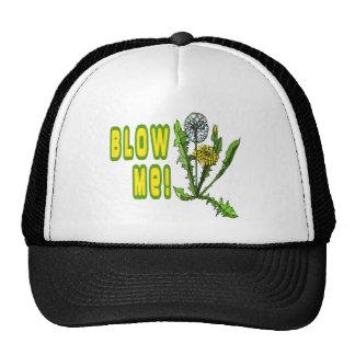 Blow Me Dandelion Trucker Hat