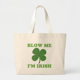 Blow Me Im Irish Tote Bags