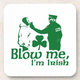 Blow Me I'm Irish Beverage Coaster