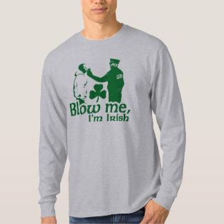Blow Me I'm Irish Tee Shirt