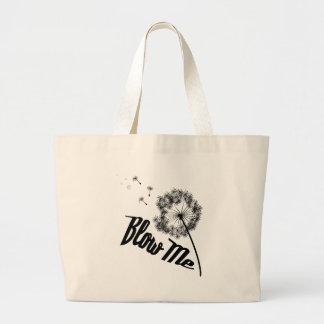 Blow Me Large Tote Bag
